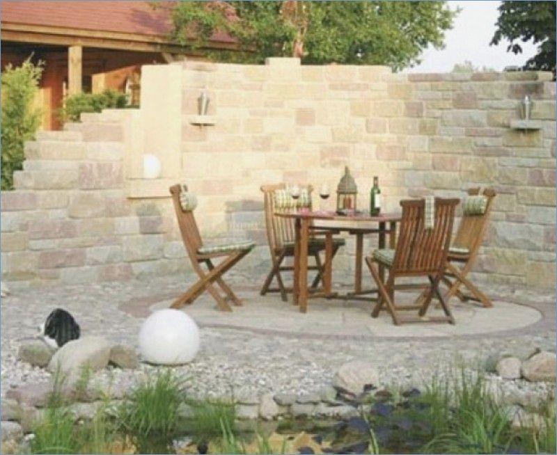 Mauer Mediterran Traumgarten Diy Garden Sloped Garden Backyard