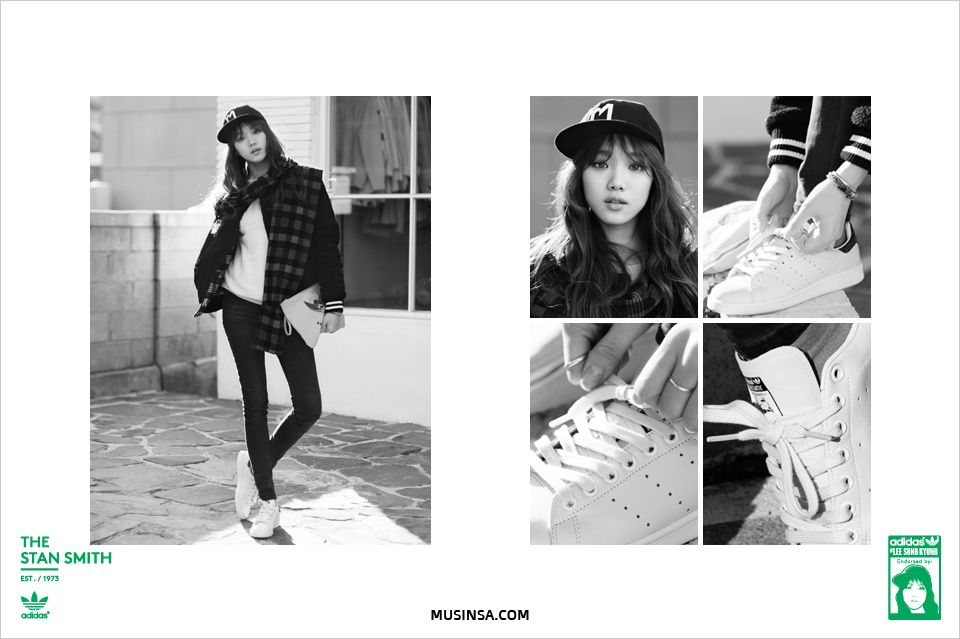 """LEE  SUNGKYUNG  - """"adidas"""" Stand Smith"""