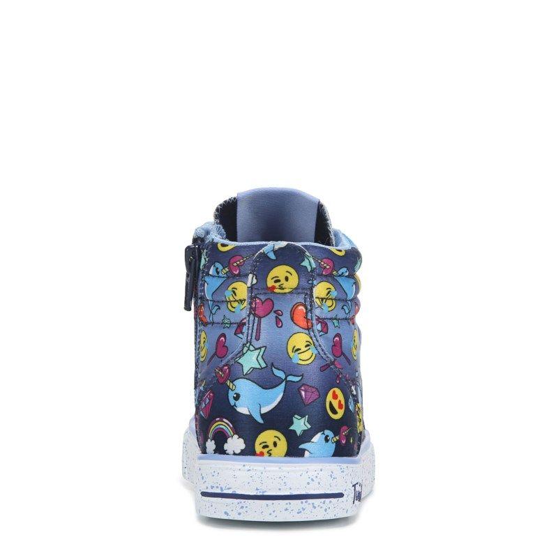 Skechers Kids' Twinkle Toe Emoji Light Up High Top Pre/Grade