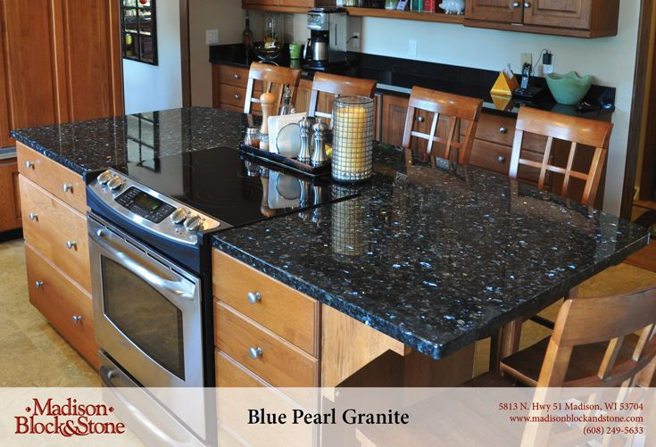 Blue Pearl (Polished) Granite