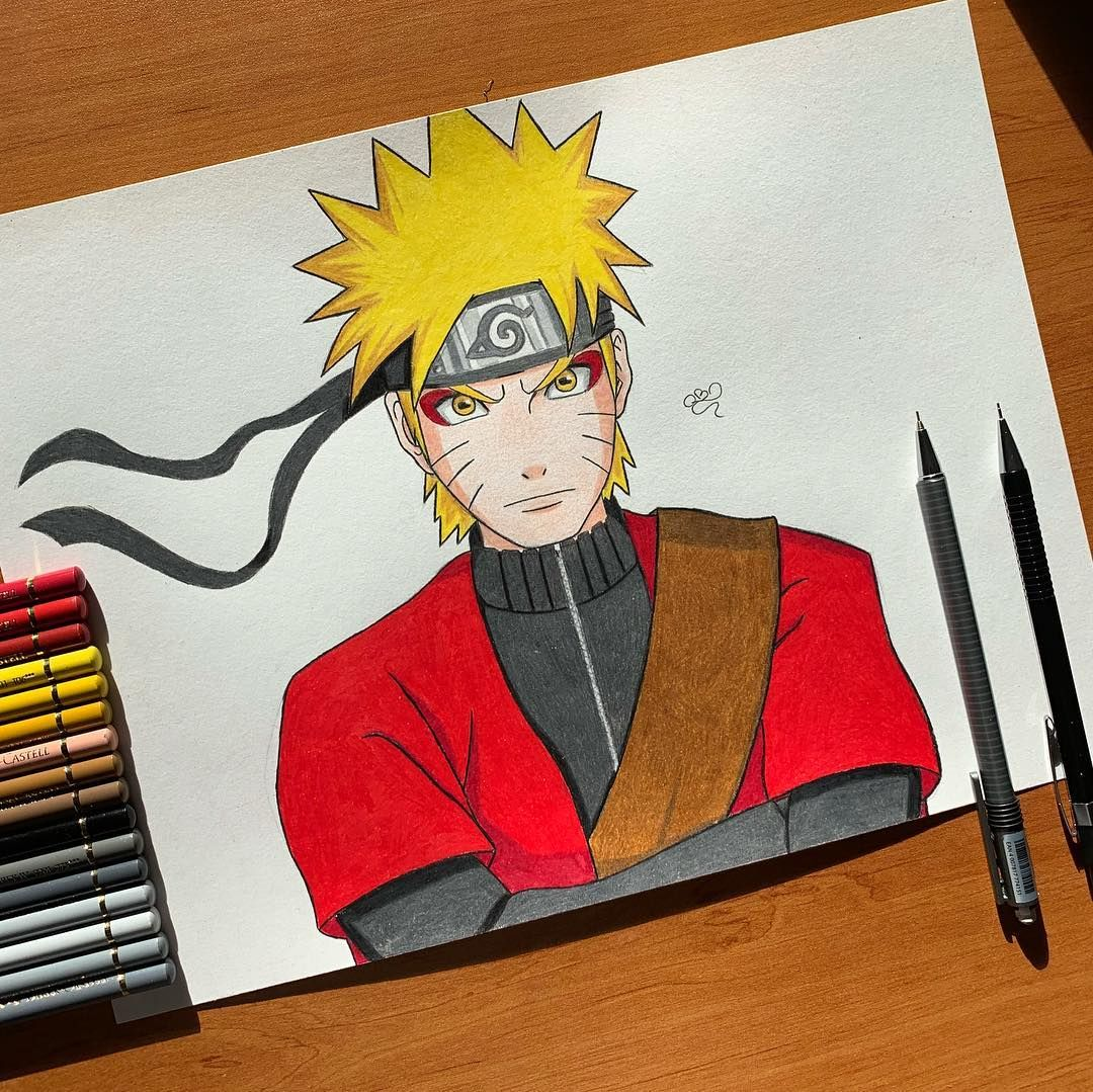 Naruto Uzumaki Mode Ermite Fiere De Vous Presenter Ce