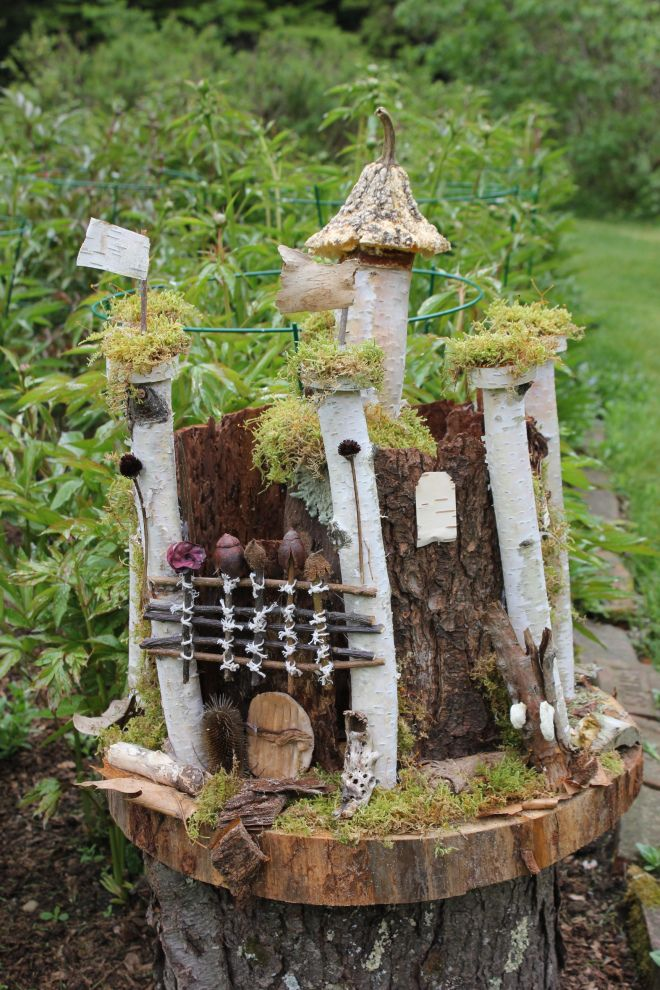 Garden Fairy Houses Twigs | Fairy and Wizard Festival in