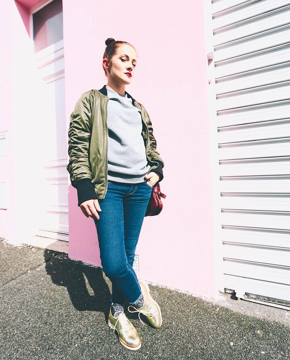 Veste bomber femme new look