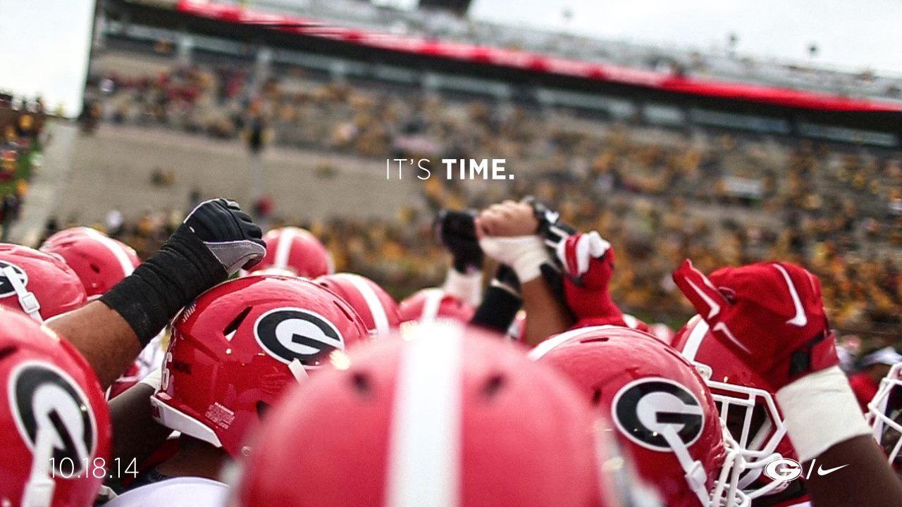 It's Time...DAWGS vs. Hogs football,