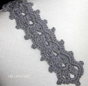 Gehäkeltes Armband #knitheadbandpattern