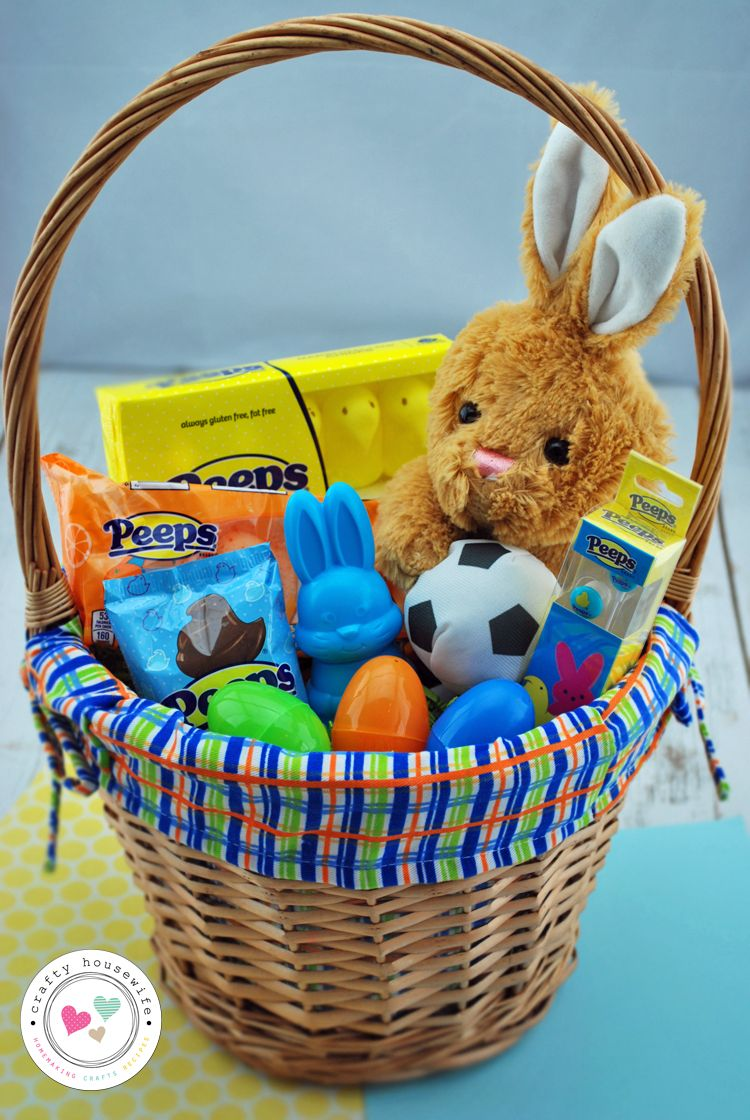40 easter basket ideas and peeps giveaway basket ideas easter easter 40 easter basket ideas negle Choice Image