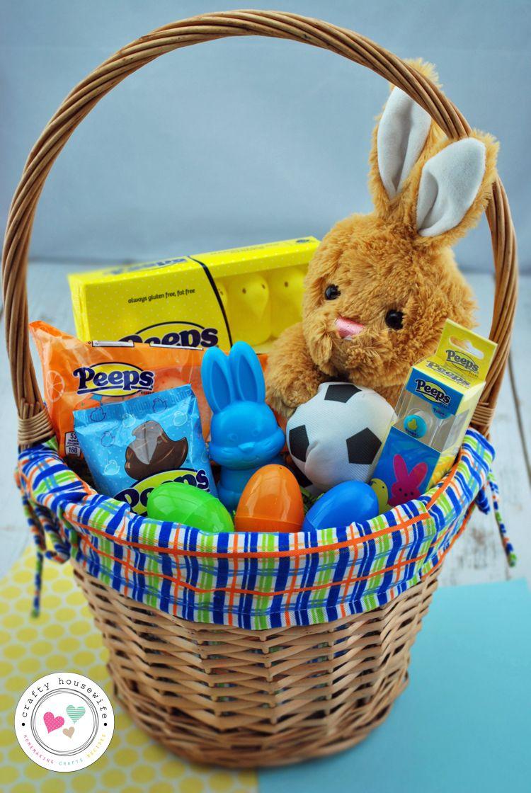 40 easter basket ideas and peeps giveaway basket ideas easter easter 40 easter basket ideas negle Gallery