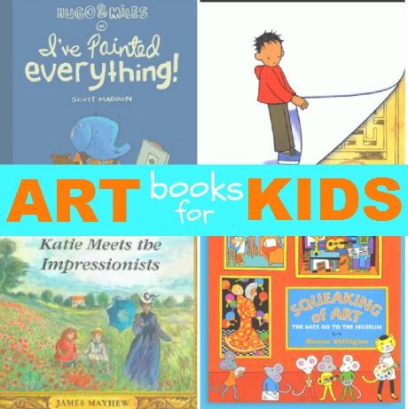 List of books for kids to learn about fine art .