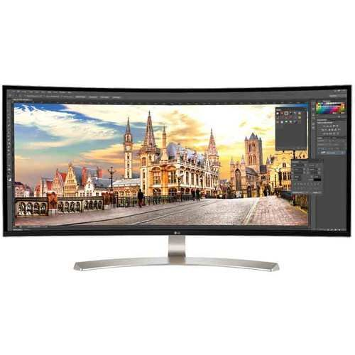 38 Ultrawide Ips Curved Led Monitor 3840 X 1600 38uc99w With Images Lcd Monitor