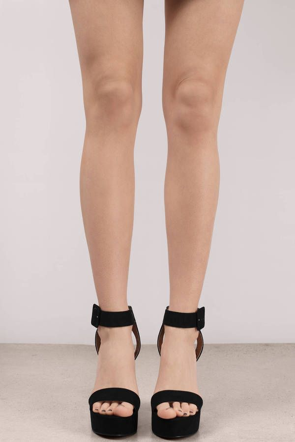 a7630cd84df  span class  item-color-name  Girl Crush Black Suede Platform Heels  span