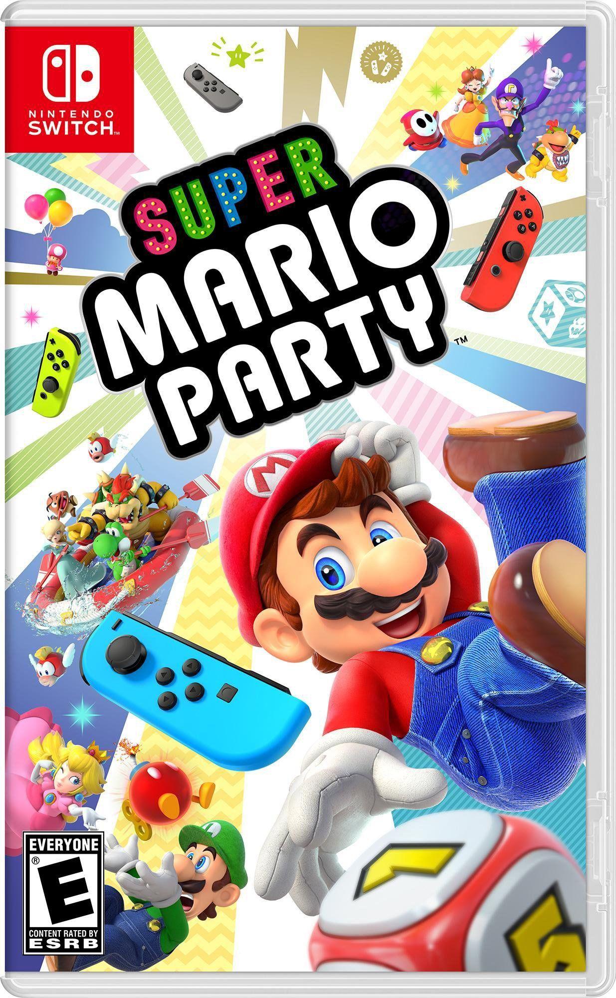 Super Mario Party Nintendo Switch Nintendo Switch Super Mario Super Mario Party Mario Party Games