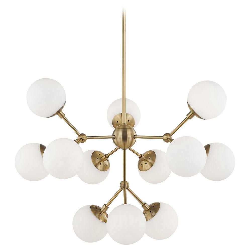 mid century modern chandelier mid