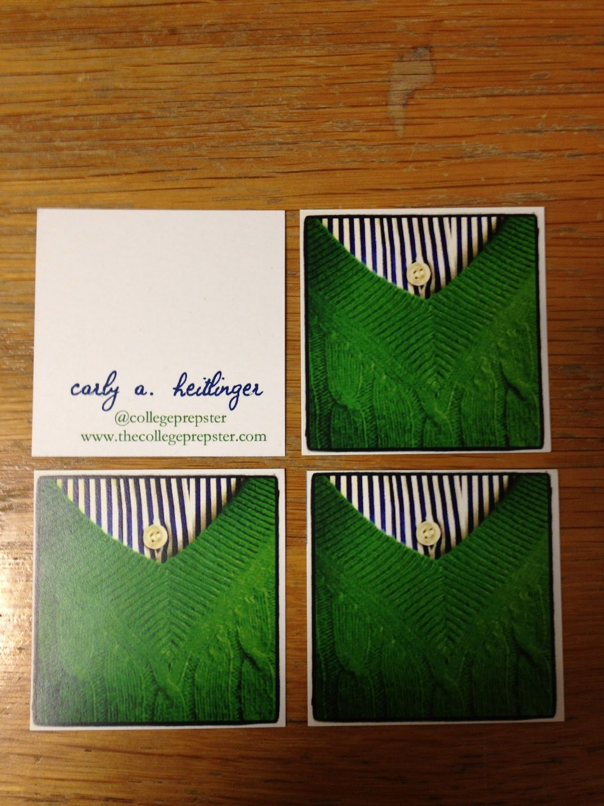 College Prep Instagram Business Cards Diy Gifts Projects