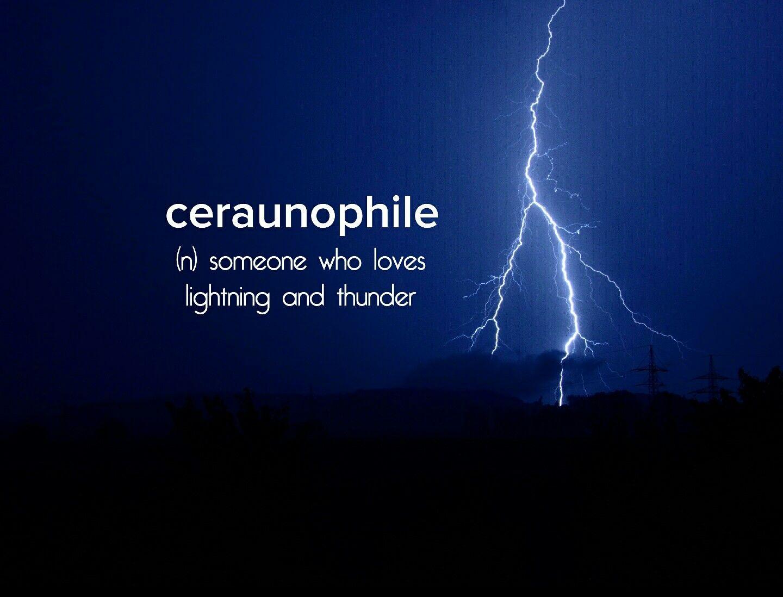I Love Storms Devonstrang Wordoftheday Wotd Word
