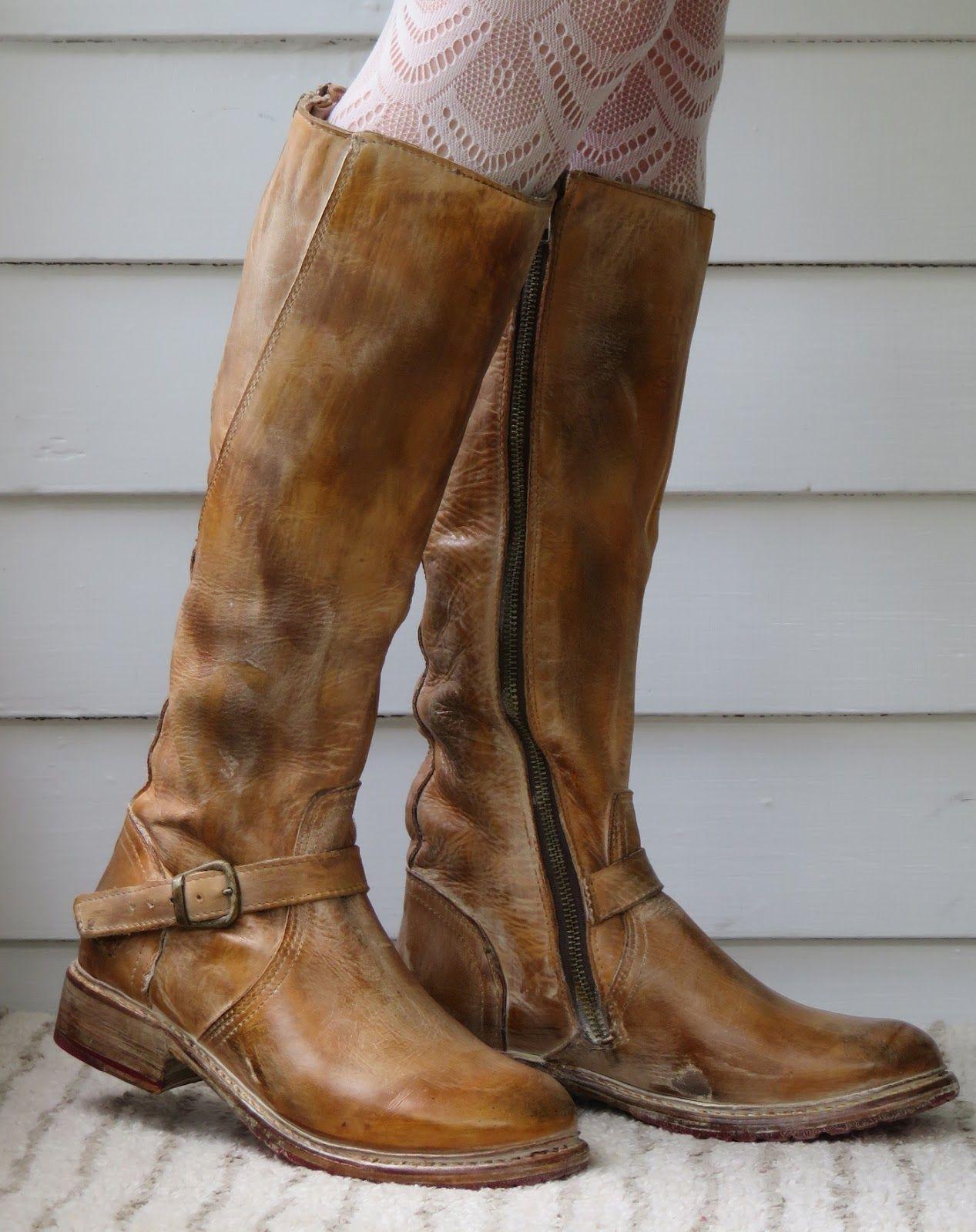 fba6034f4e5 Howdy Slim! Riding Boots for Thin Calves: Bed Stu Glaye | Pantofi ...