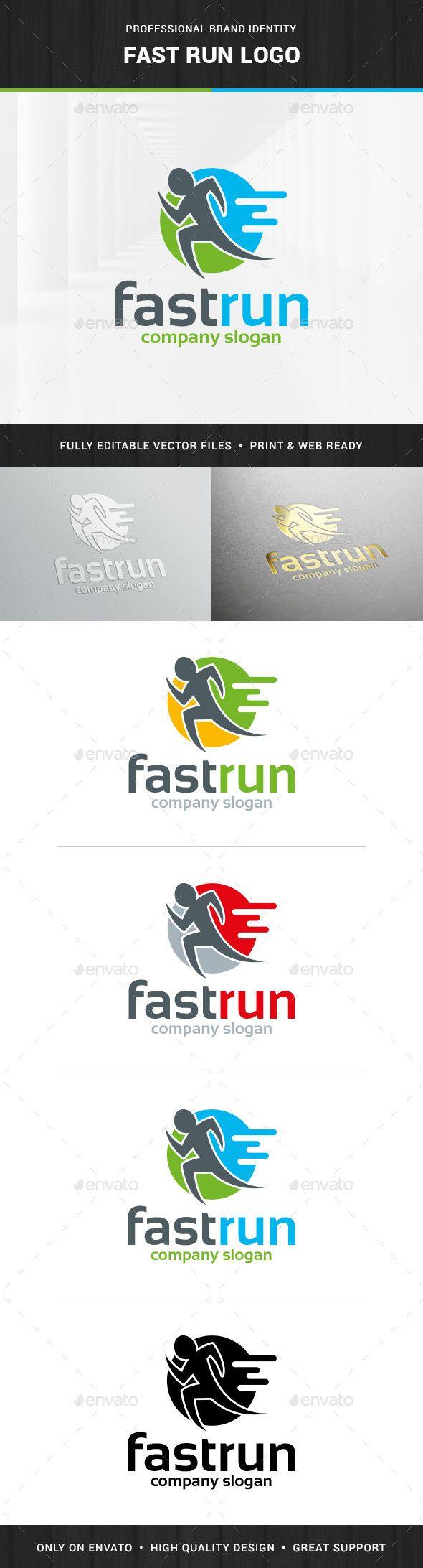 Fast Run Logo Template
