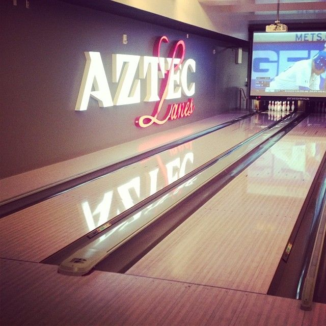 The New Bowling Lanes At State Are Azteclanes Sdsu