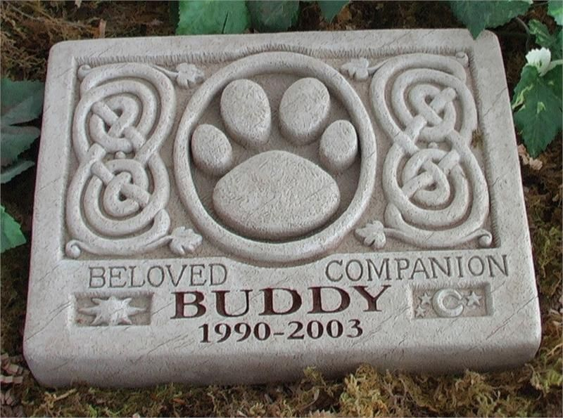 pet marker personalized pet memorial marker with celtic desgin