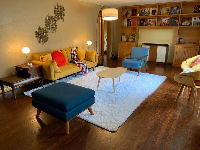 Living Room Progress - 1 Month - midcenturymodern