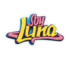 Logo en Fondant de Soy Luna | Soy Luna Fondant Logo | soy luna ...