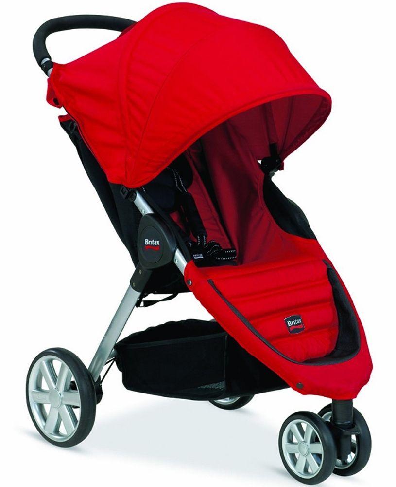 Britax BAgile Stroller Red Stroller, Britax b agile