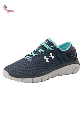 UA W Micro G Assert 6, Chaussures de Running Compétition Femme, Noir (Black), 44.5 EUUnder Armour