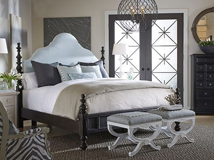 This Drexel Heritage Viage collection bedroom is the perfect picture ...