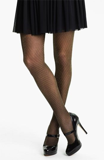 67c1fc6b9fa25 Nordstrom 'Sparkle' Chevron Thigh High Stockings available at #Nordstrom