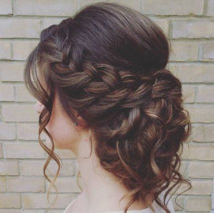 20+ ideas hairstyles party side plaits