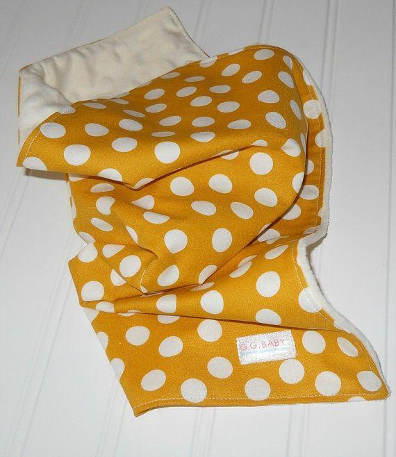 Sunshine Dots Baby Security Blanket Lovey by pajamajonesdesigns, $16.00