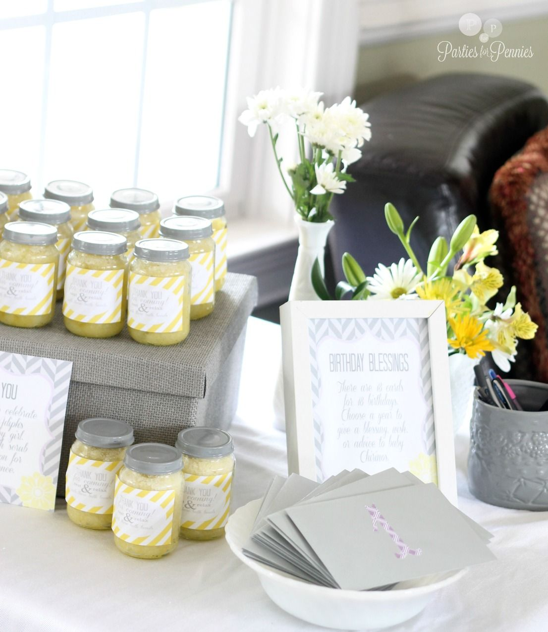 Home | Lemon sugar, Shower favors and Favors
