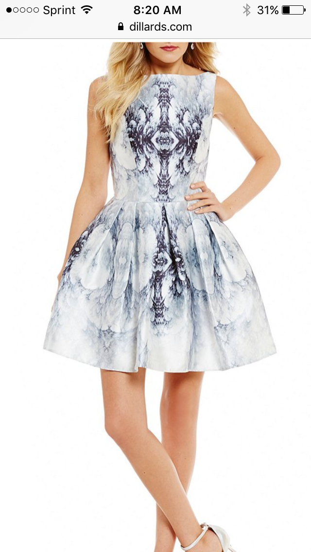 8fdb6eef481 Fit Flare Dress · Ball Gowns · https   www.dillards.com p glamour-by-