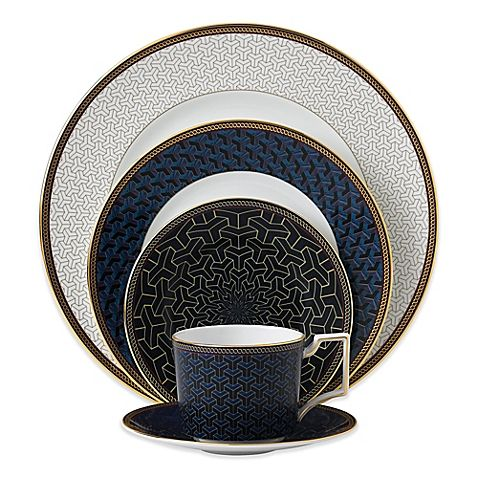 23b283f1c36b Taking inspiration from art deco style, Wedgwood's Byzance  Dinnerware features