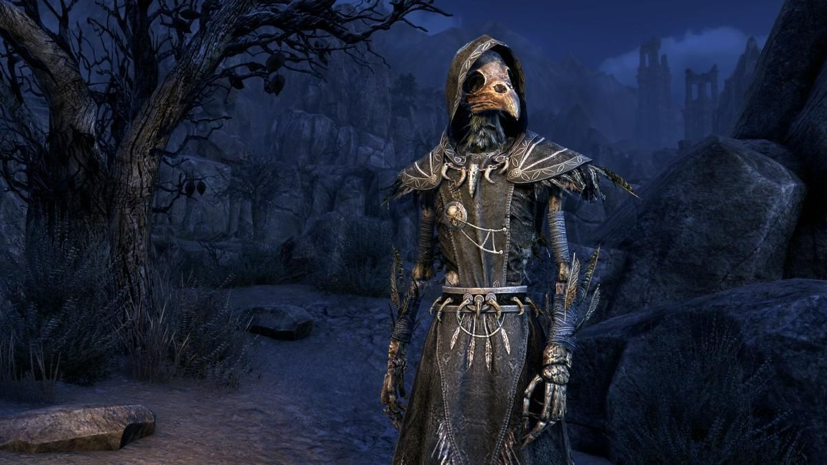Wraith Of Crows Is A Polymorph For The Elder Scrolls Online Available Through The Crown Store For A Limited Time A Elder Scrolls Online Elder Scrolls New Moon The elder scrolls online markarth dlc
