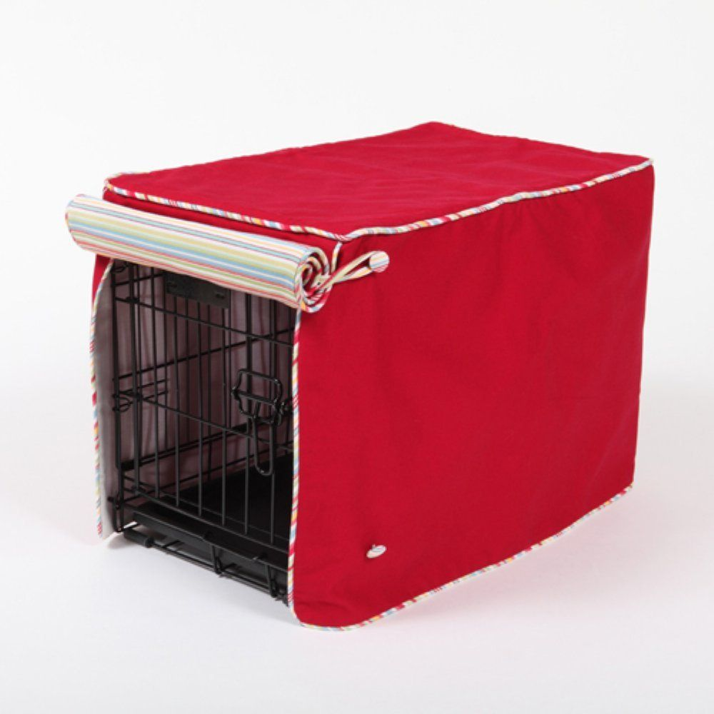 crate covers and more simply red with sierra cool blue cording