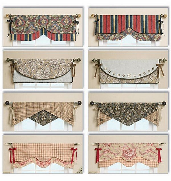 Window Valance Curtains Patterns And Styles Decor