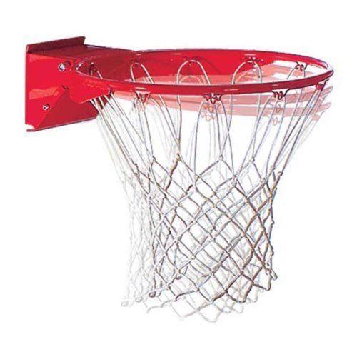 227s Spalding Pro Image Basketball White Net Goal Rim Basketball Rim Basketball Moves Basketball Goals