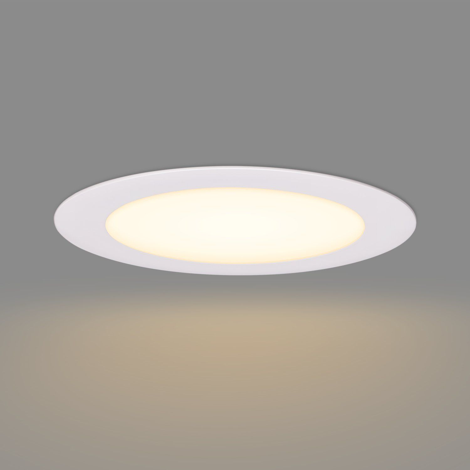 Getinlight Slim Dimmable 3 Inch Led Recessed Lighting Round Ceiling Panel Junction Box Included 4000kbri Recessed Lighting Led Recessed Lighting Ceiling Panels