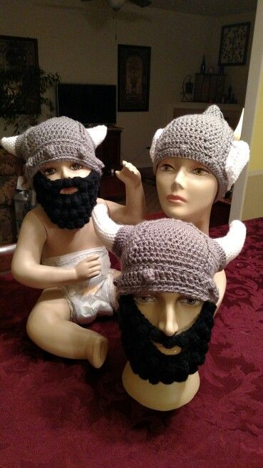 The Nordic Family Thor Hat Pattern By Shelle Hendrix Lael Viking