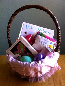 40 easter basket ideas that arent candy thank you great ideas 40 easter basket ideas that arent candy its is pretty hard to make a basket for a 12 month old negle Gallery
