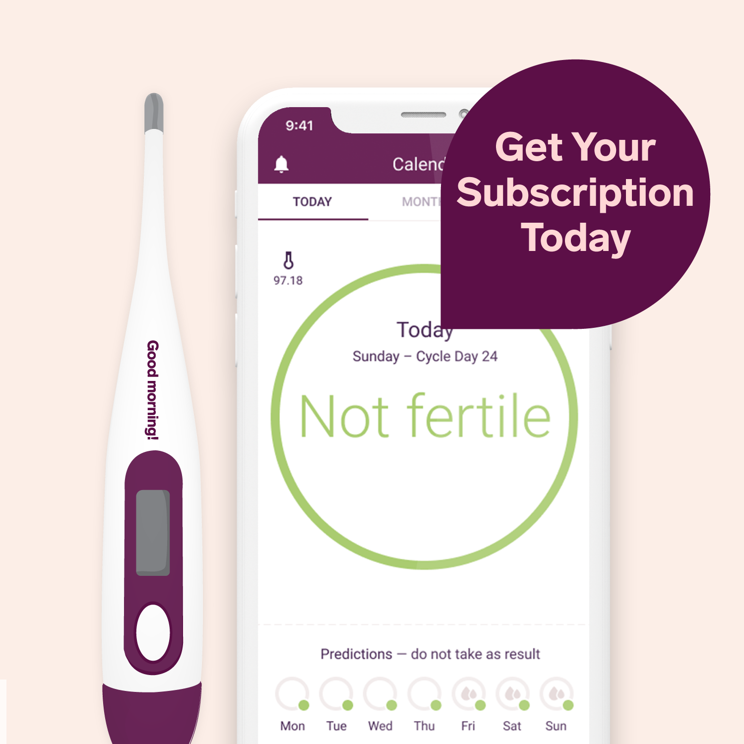 Natural Cycles is the intelligent birth control app that