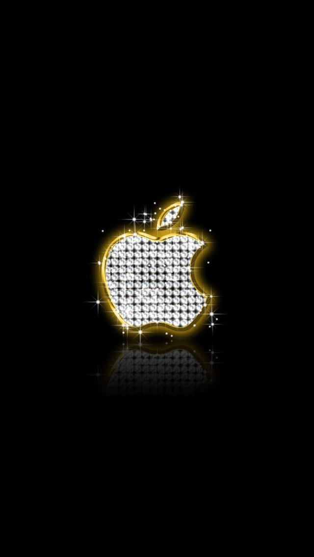 Apple Gold Diamonds Iphone 7 And Iphone 7 Plus Hd Wallpaper Apple Iphone Wallpaper Hd Apple Logo Wallpaper Gold Wallpaper Iphone
