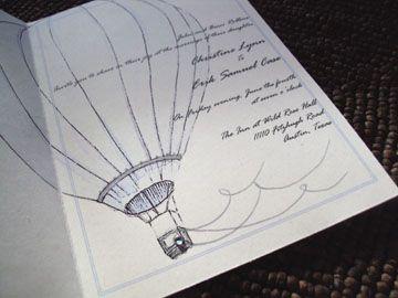 drawings in invites?