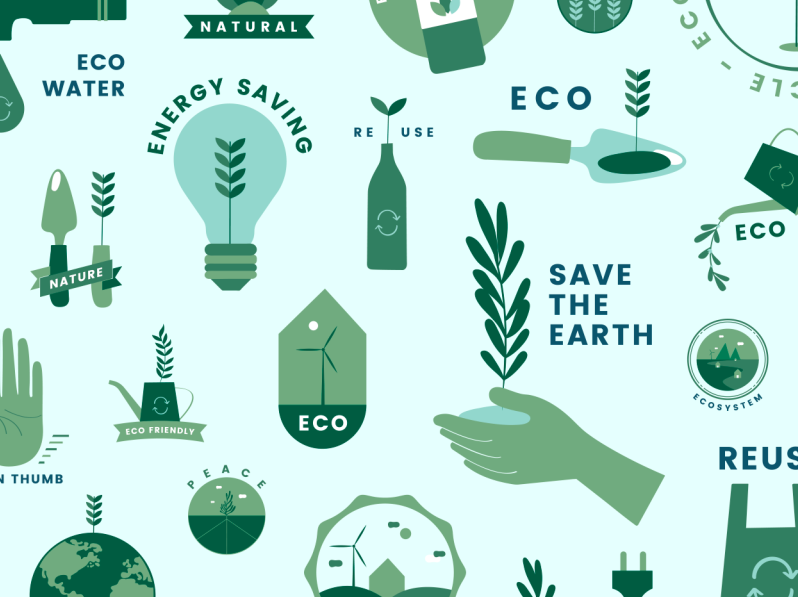 Best Sites To Shop For Eco Friendly Products Ecofriendly Greenliving Sustainable Eco Friendly Art Vector Free Eco