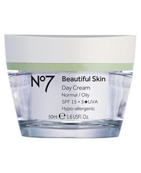 Boots No 7 Beautiful Skin Day Cream For Normal Oily Skin Rated 5 0 Out Of 5 By Makeupalley Com Members Beautiful Skin Lotion For Oily Skin Oily Skin