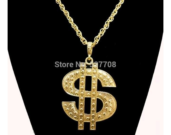 18k gold plated chain dollor necklace xx l hip hop bling gangster 18k gold plated chain dollor necklace xx l hip hop bling gangster chain pendant mozeypictures Images