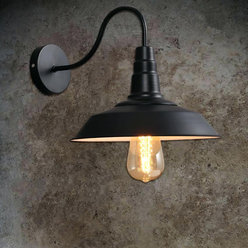Dazzling Industrial Outdoor Lighting Fixtures In 2020 Wall Lamp