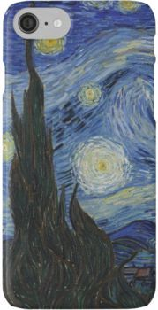 The Starry Night by Vincent van Gogh | iPhone Case & Cover
