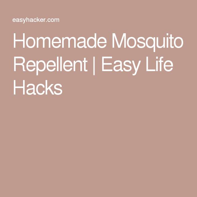 Homemade Mosquito Repellent | Easy Life Hacks