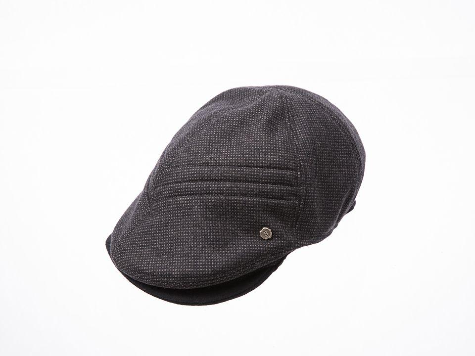 Twice tuck unbalanced brim hunting cap www.omae.co/shop/brownhat